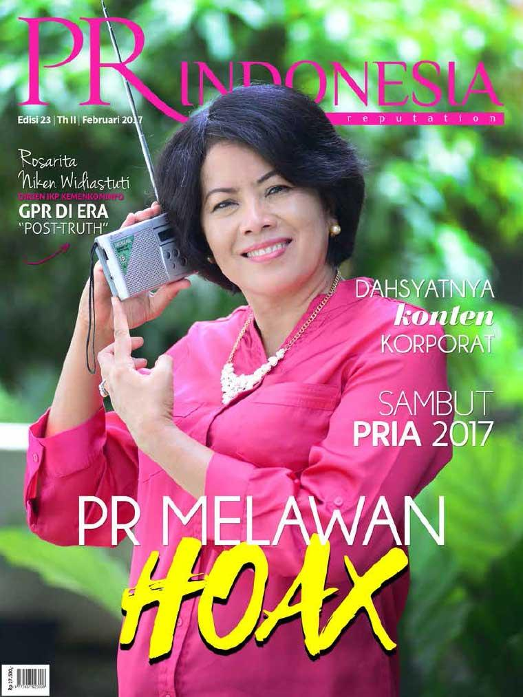 Majalah Digital PR Indonesia ED 23 Februari 2017
