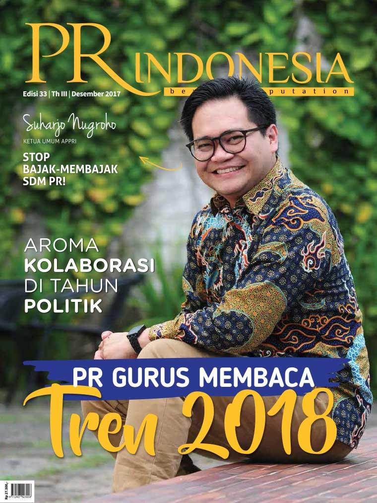 PR Indonesia Digital Magazine ED 33 December 2017