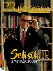 Cover Majalah PR Indonesia ED 20 November 2016