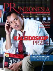 Cover Majalah PR Indonesia ED 21 Desember 2016
