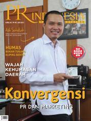 Cover Majalah PR Indonesia ED 28 Juli 2017