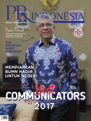 Cover Majalah PR Indonesia ED 29 Agustus 2017