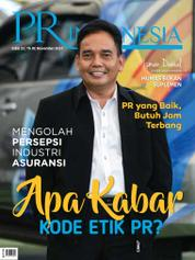 Cover Majalah PR Indonesia ED 32 November 2017