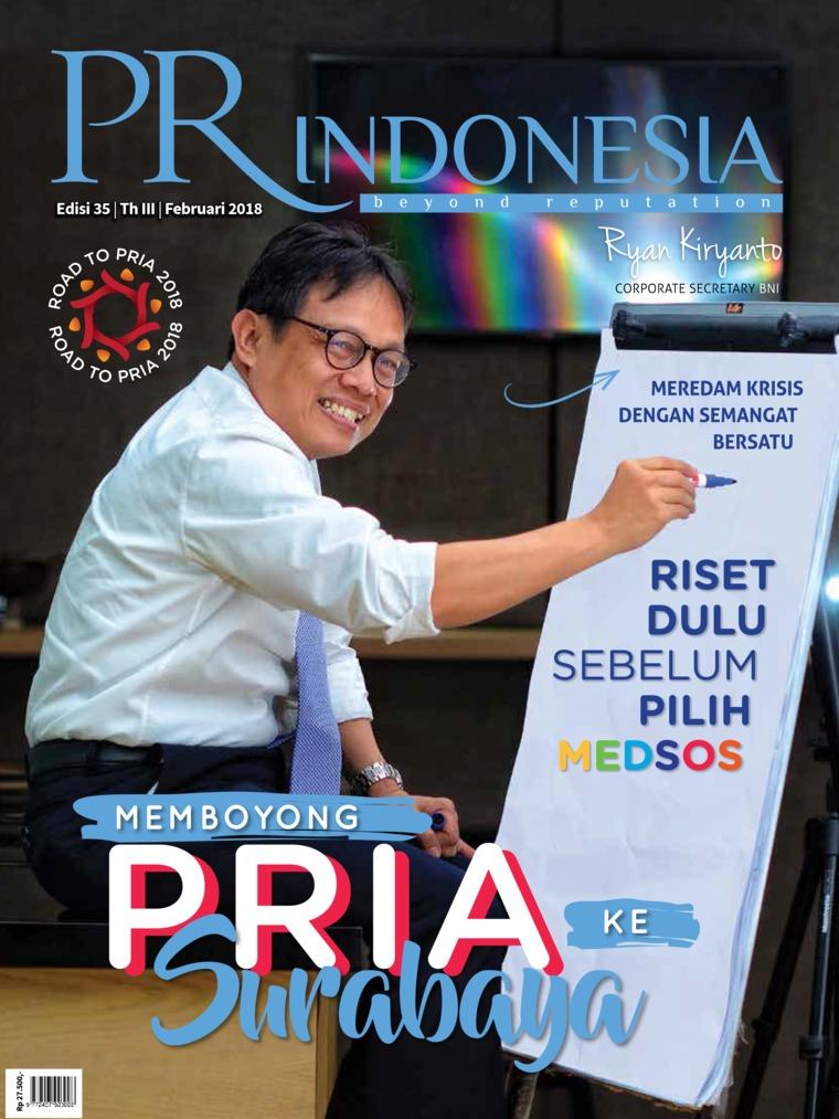 PR Indonesia Digital Magazine ED 35 February 2018