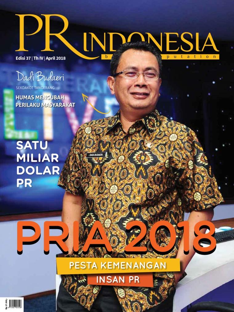 PR Indonesia Digital Magazine ED 37 April 2018