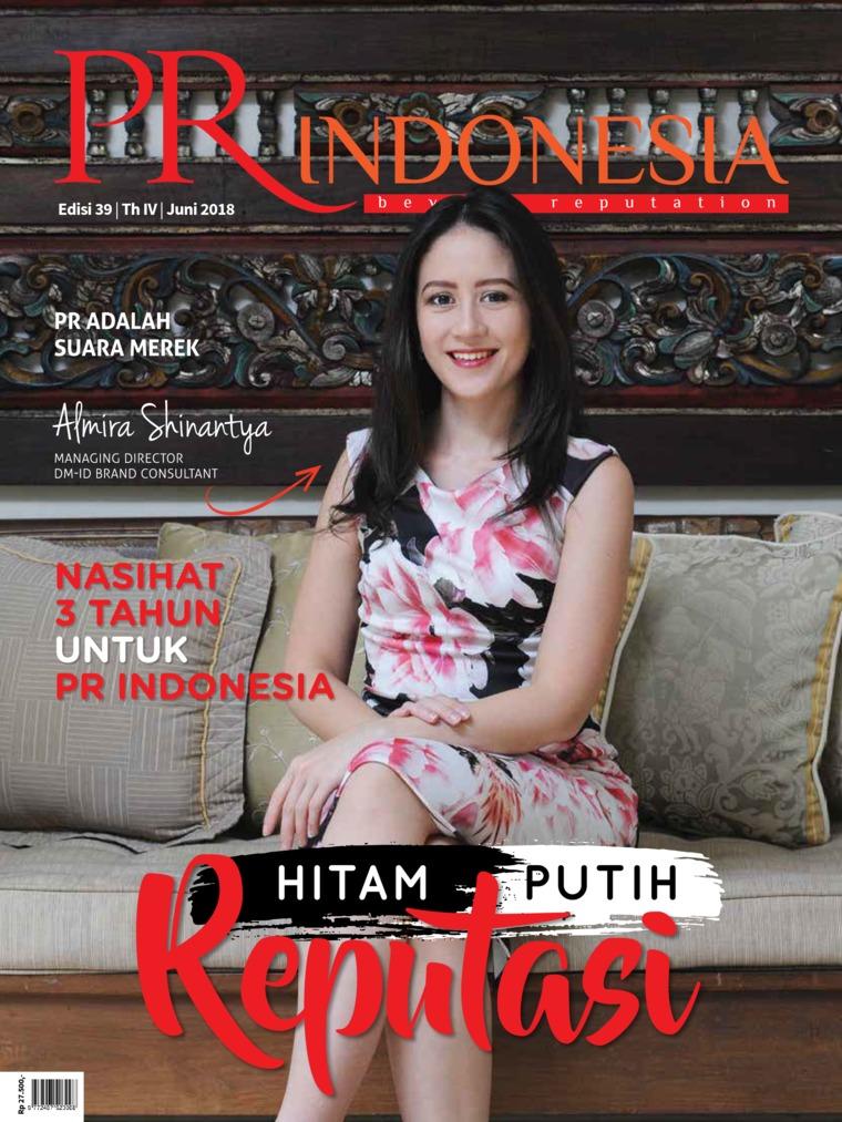 PR Indonesia Digital Magazine ED 39 June 2018