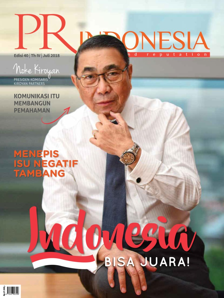 PR Indonesia Digital Magazine ED 40 July 2018
