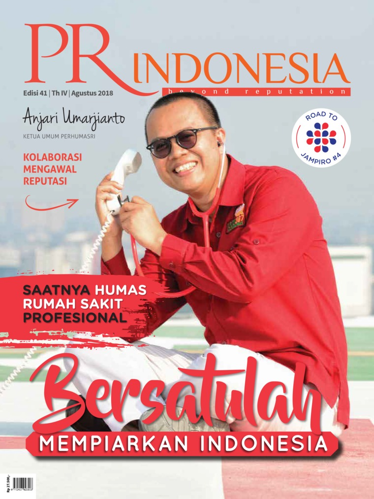 PR Indonesia Digital Magazine ED 41 August 2018