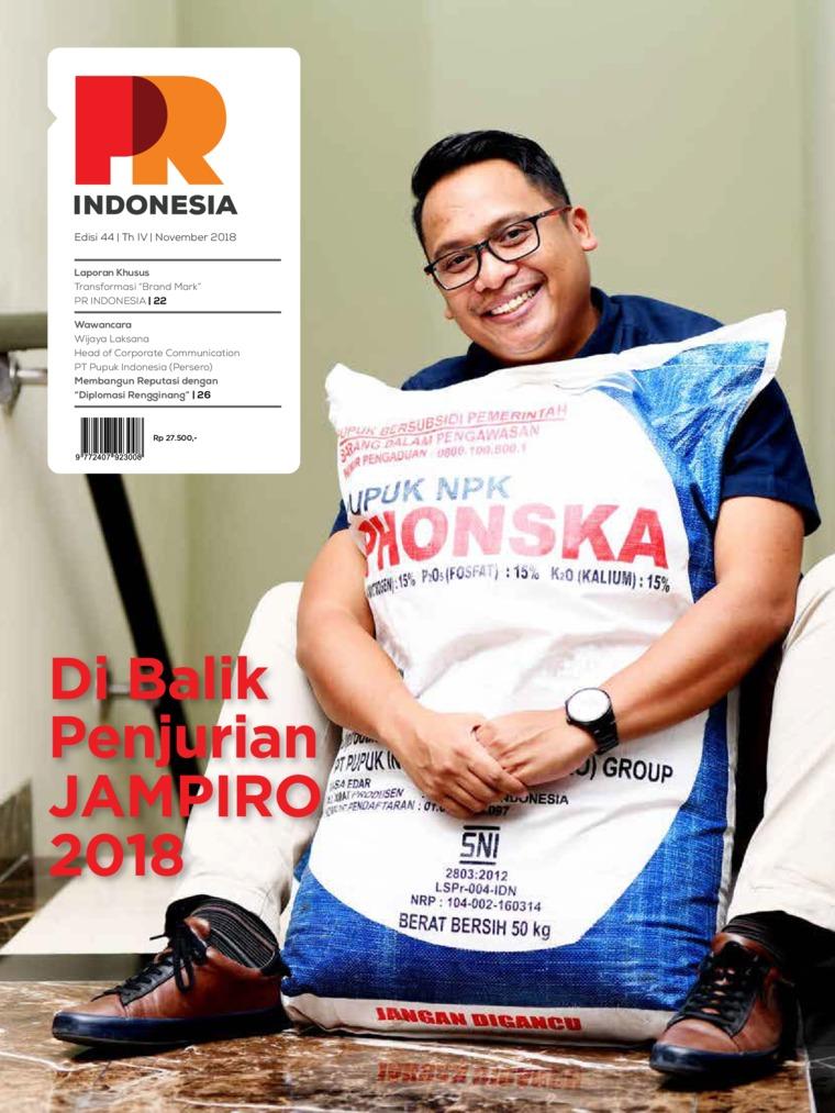 PR Indonesia Digital Magazine ED 44 November 2018