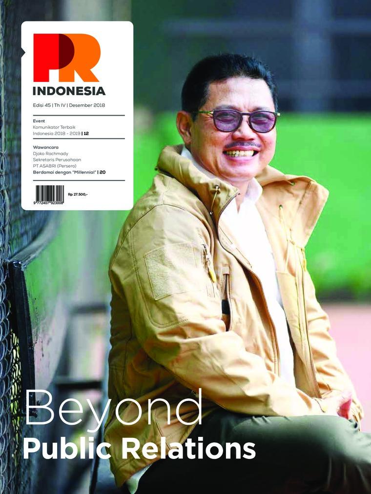 Majalah Digital PR Indonesia ED 45 Desember 2018