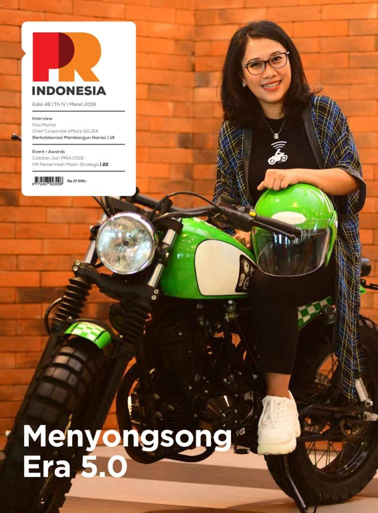 Majalah Digital PR Indonesia ED 48 Maret 2019