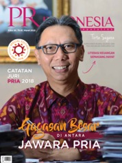 Cover Majalah PR Indonesia ED 36 Maret 2018