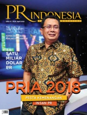 Cover Majalah PR Indonesia ED 37 April 2018