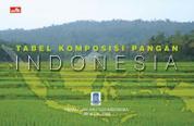 Cover Tabel Komposisi Pangan Indonesia oleh