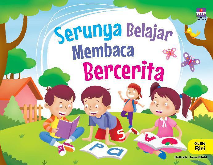 Buku Digital Serunya Belajar Membaca dan Bercerita oleh Riri