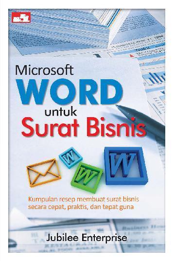 Jual Buku Microsoft Word Untuk Surat Bisnis Oleh Jubilee