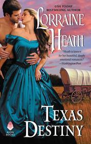 Cover Texas Destiny oleh Lorraine Heath