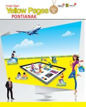 Cover Majalah Yellow Pages - Pontianak