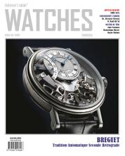 Cover Majalah Collectors Guide WATCHES