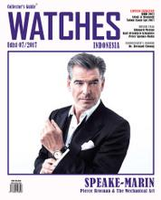 Cover Majalah Collector's Guide WATCHES