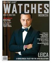 Cover Majalah Collector's Guide WATCHES ED 12 2018-2019