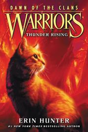 Cover Warriors: Dawn of the Clans #2: Thunder Rising oleh Erin Hunter