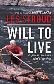 Will to Live by Les Stroud Cover