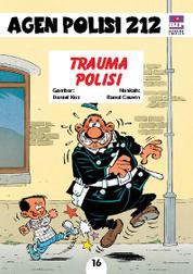 Seri Agen Polisi 212 No.16: Trauma Polisi by Cover