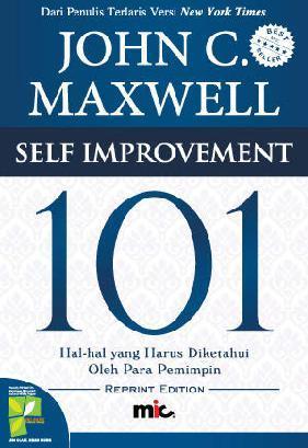 Buku Digital Self Improvement 101 oleh John C. Maxwell
