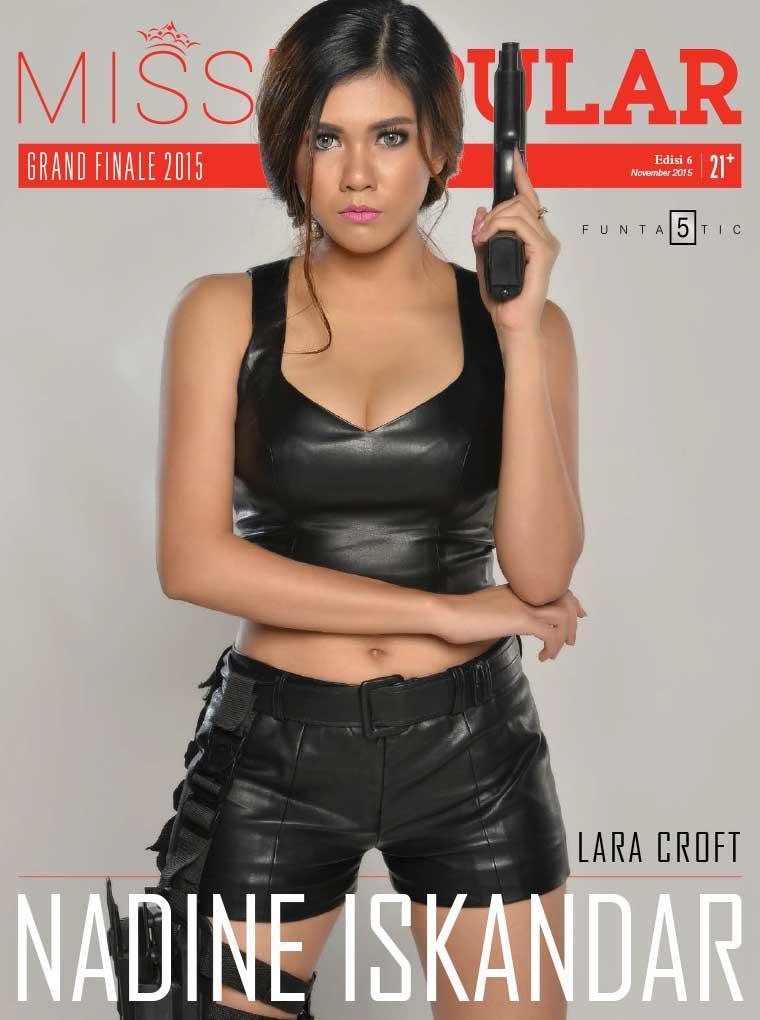 Jual Majalah Miss Popular Nadine Iskandar