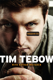 Through My Eyes by Tim Tebow Cover