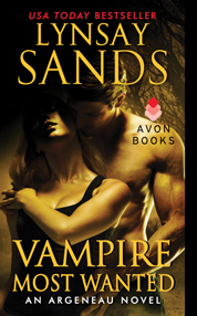 Vampire Most Wanted by Lynsay Sands Cover