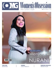Cover Majalah Women's Obsession ED 36 Februari 2018