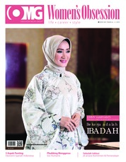 Cover Majalah Women's Obsession ED 41 Juli 2018