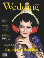 SURABAYA Wedding Magazine Cover ED 38 August 2016
