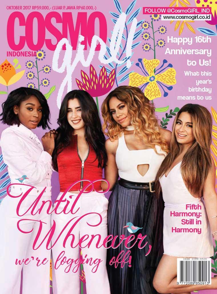 COSMO girl! Indonesia Digital Magazine October 2017