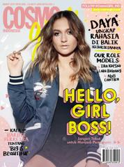 COSMO girl! Indonesia Magazine Cover March 2017