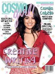 COSMO girl! Indonesia Magazine Cover April 2017
