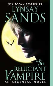 The Reluctant Vampire by Lynsay Sands Cover