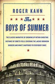 The Boys of Summer by Roger Kahn Cover