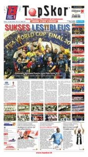 Cover Top Skor 16 Juli 2018