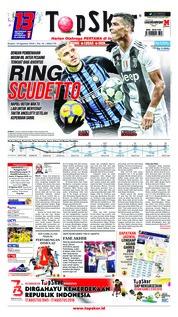 Cover Top Skor 16 Agustus 2018