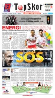 Cover Top Skor 18 Agustus 2018