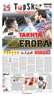 Cover Top Skor 15 Maret 2019