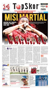 Cover Top Skor 13 Agustus 2019