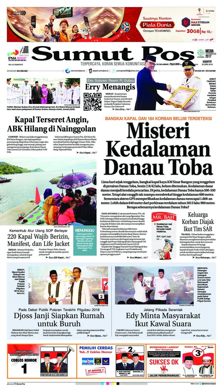 Koran Digital SUMUT POS 23 Juni 2018