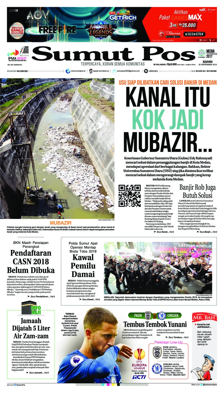 Koran Digital SUMUT POS 20 September 2018