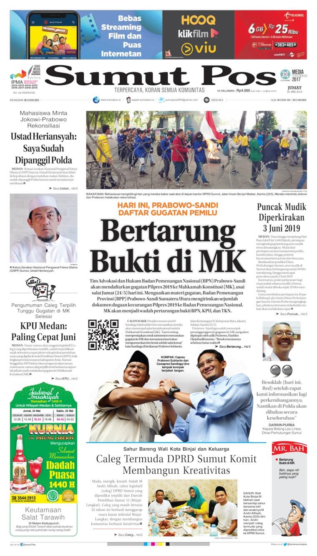 Koran Digital SUMUT POS 24 Mei 2019
