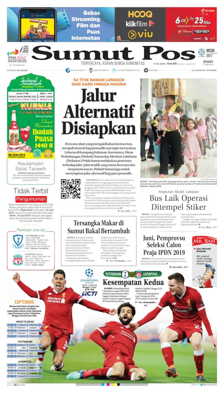 Koran Digital SUMUT POS 31 Mei 2019