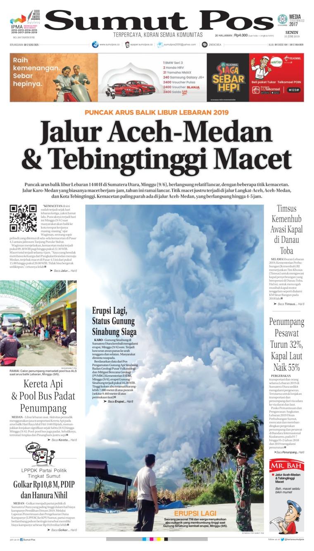 Koran Digital SUMUT POS 10 Juni 2019